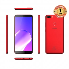 INFINIX HOT 6 PRO, 3+32G, 6.0 HD, Dual camera, 4000mAh, 4G LTE, FACE + FIGERPRINT UNLOCK, Smartphone red