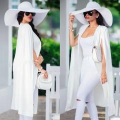 2018 Long Women Blazers Office Lady Style Long Sleeves Lady Suit Plus Size Coat Blazer Feminino green s