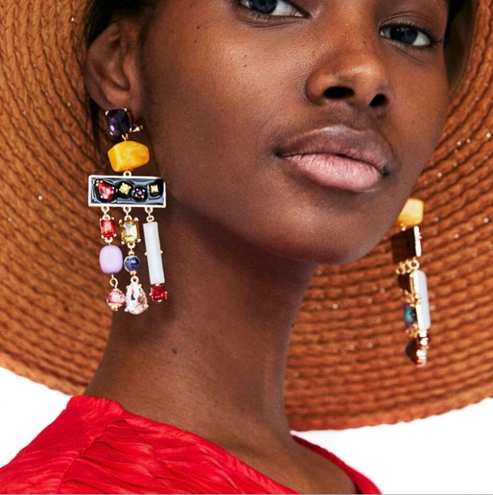 Kilimall: Neon Tiered Long Tassel Earrings for Women Big Fashion ...