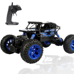 Toy Car 2.4GHz Remote Control Truck Electric Rock Crawler Radio Control Vehicle Off Road Cars Blue one size