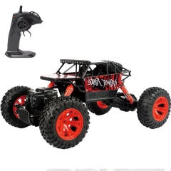 Toy Car 2.4GHz Remote Control Truck Electric Rock Crawler Radio Control Vehicle Off Road Cars Red one size