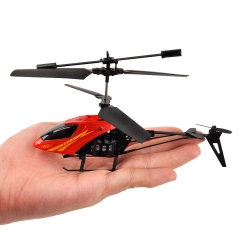 RC 901 2CH Mini rc helicopter Radio Remote Control Aircraft Micro 2 Channel boy toys RED one size