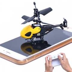 Super Hot RC 2CH Mini rc  helicopter Radio Remote Control Aircraft Micro 2 Channel Gifts Black one size