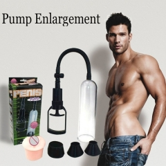 Manual Penis Pump Pull Rod Enlarge Tool Powerful Suction Sex Toy Adult Product for Men black default