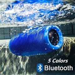 New Wireless Best Bluetooth Speaker Waterproof Portable Outdoor Mini Column Box Loudspeaker Speaker Red one size