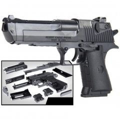 Educational kids toys building blocks gun model building kit pistol children assembled toy bricks Black one size