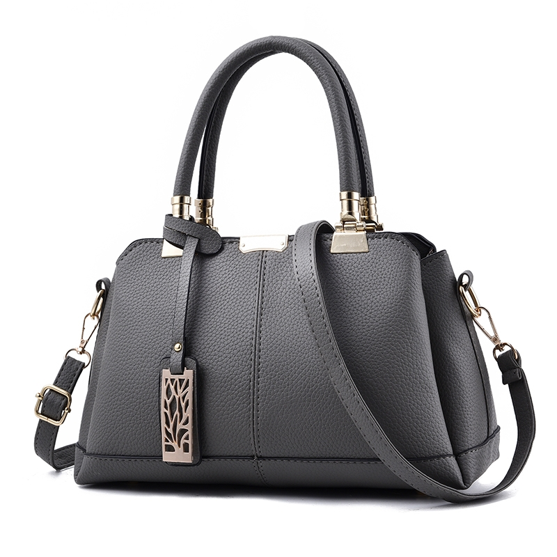 949cea8d08e MSIN New Arrival Tide Bag Women Stereotypes Sweet Lady Handbags Slung  Shoulder Bag dark gray 31*19*14cm