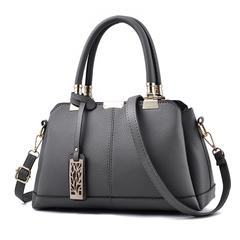 MSIN New Arrival Tide Bag Women Stereotypes Sweet Lady Handbags Slung Shoulder Bag dark gray 31*19*14cm