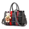 MSIN Women's Bag  Women bags Stereotype Sweet Fashion Handbags Messenger Shoulder Bag dark gray 27*12*17cm
