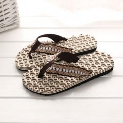 Men'S Comfortable Massage Slippers Flip Flops Light Bottom Beach Shoes Home Slippers Casual Men 1 40