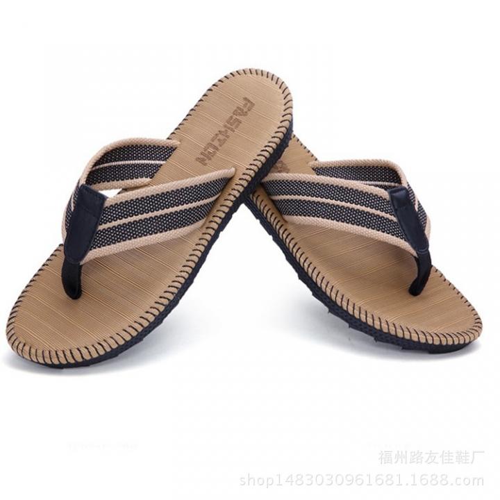 163eebaa0 2018 New Men S Flip-Flops Beach Slippers Sandals Men S Sandals Clips Drag Men S  Shoes Summer