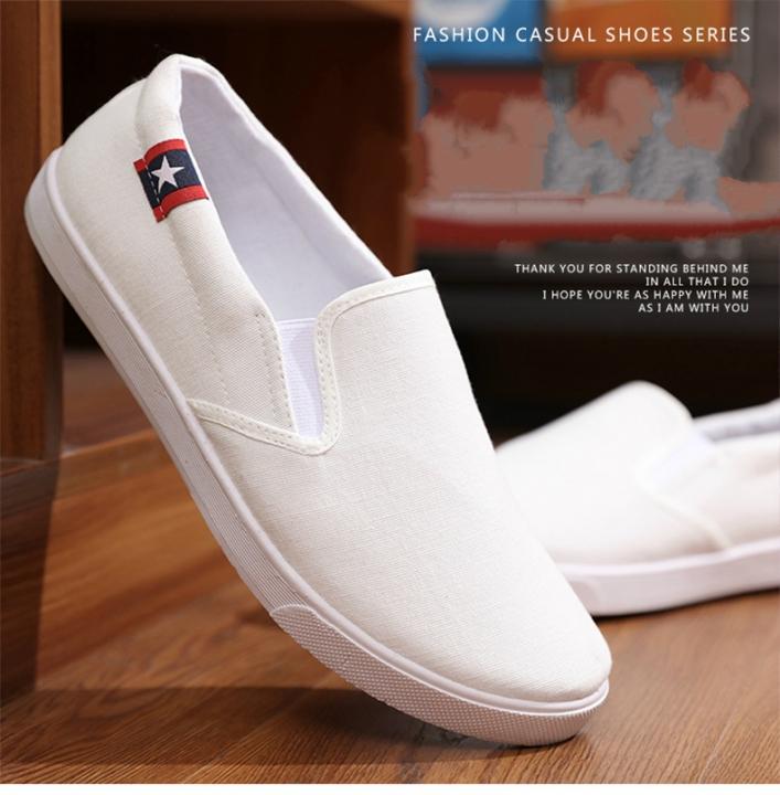 7bea6e52cc4 Clearance Canvas Shoes Men S Casual Shoes Low Canvas Shoes Boys Shoes White  Shoes Flat Shoes white