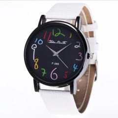 Funny Digital Watches Women Men's Quartz Watch Ladies Wrist Watches white