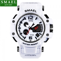 Mens Watches SMAEL Luxury Brand Quartz Clock Digital LED Watch Army Military Sport Watch WT one