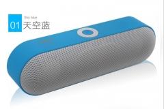Hot NBY-18 Mini Bluetooth Speaker Portable Wireless Speaker blue one
