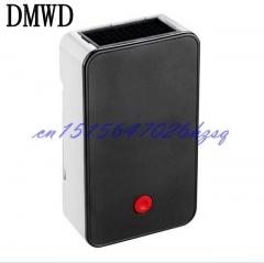 DMWD Mini Portable Fan Heater hand Electric Air Warmer Heating Winter Keep Warm Desk Fan black
