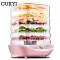 CUKYI Food Dehydrator Fruit Vegetable Herb Meat Drying Machine Pet Snacks food Dryer with 5 trays pink