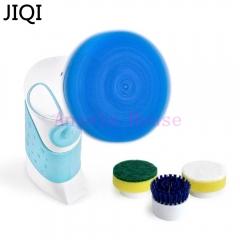 JIQI Replace brush handheld Dishwashing machine multifunctional  kitchen bathroom cleaning brush the whole set 15cm x 8cm x 8cm