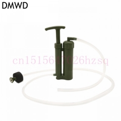 DMWD Easy Portable Ceramic Soldier Water Filter Purifier micro for Outdoor Survival Hiking Camping green