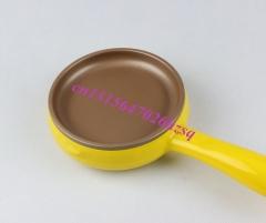 CUKYI Multifunctional / mini electric frying pan Skillet / Fried Eggs / fried steak / Egg boiler yellow