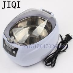 JIQI Household Ultrasonic wave cleaner Microcomputer control Cleaning machine 200-240V or 100-120V 110V Gray 30cm x 25cm x 20cm