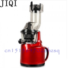 JIQI Operated Mini Cream Mayonnaise Frother Drink Milk Mixer Electric Food Mixer red
