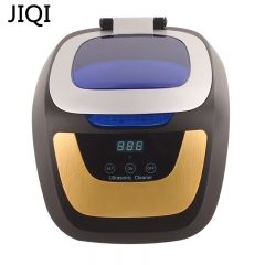 JIQI ultrasonic cleaner Jewelry Glasses Circuit Board Cleaning Machine Smart Control  cleaning bath 220V 29cm x 23cm x 19cm