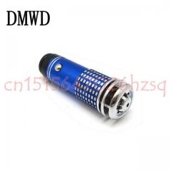 DMWD Vehicle Mini Portable Purifier Formaldehyde and smoke smell removal Negative ion air purifier blue 9cm x 3cm x 3cm