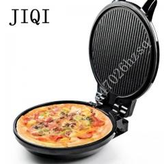 JIQI Multi function Electric Skillet Household baking pan double heating machine Pancake makers black