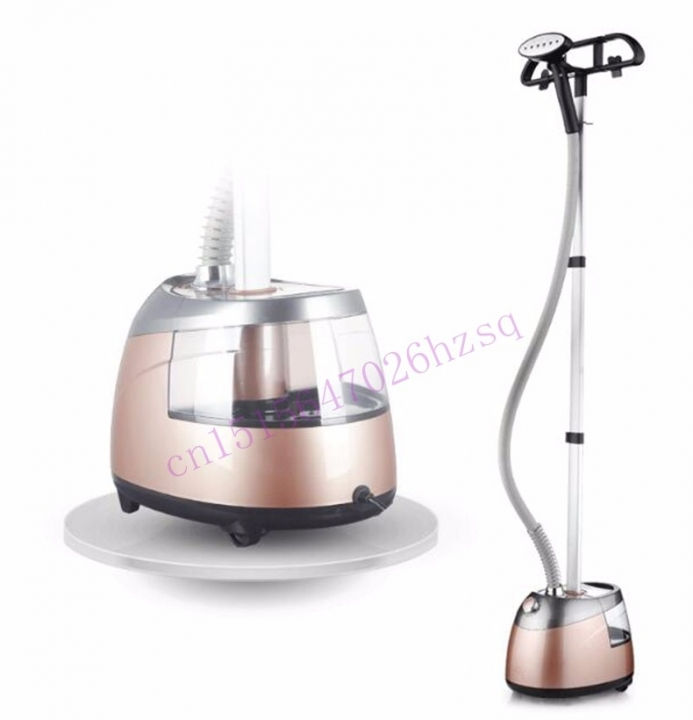 DMWD Ironing machine for ironing clothes household steam iron 2000W piano paint 10 degrees rose gold