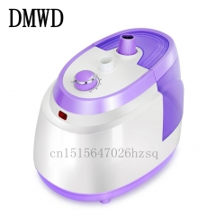 DMWD household Garment Steamers 1800W Powerful Fast Heat Iron for Clothes Standing Vertical purple