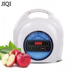 Household automatic machine Fruit vegetable washing machine Ozone disinfection Safe to use white 30cm x 18cm x 28cm