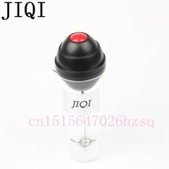 JIQI Household automatic electric Blenders portable Fancy coffee Milk Foam Frother Maker black