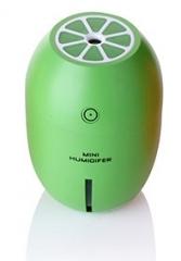 DMWD Creative Lemon USB Ultrasonic Humidifier Colorful Light Essential  Oil Aroma Diffuser Auto Off green 8cm x 8cm x 12cm