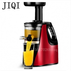 JIQI household electric Slow Juicer power Food processor Automatic multifunction Juicing machine red