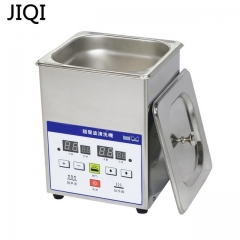 JIQI Electric Stainless Steel Ultrasonic Cleaner Bath Digital Ultrasound Wave Cleaning Tank 110V with basket 31cm x 25cm x 25cm