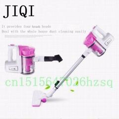 JIQI Vacuum cleaner household handheld strong Sterilization killing mite portable ultra quiet Corded pink 45cm x 19cm x 30cm