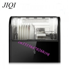 Vertical disinfection cabinet Mini sterilization cupboard door Kitchen Dish Dryer 28L 220V black