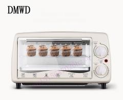 DMWD Multi-function electric oven bake home small oven temperature control mini cake oven white 40cm x 25cm x 27cm 680W