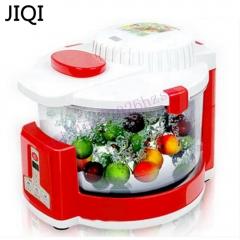 JIQI Ozone machine Vegetable washer ozone disinfection fruit vegetable pesticide Detoxification red 38cm x 35cm x 27cm