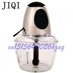 JIQI Household Electric Automatic Kitchen Meat Grinder Vegetable Cutter Blender Food Cooking Mixer gold