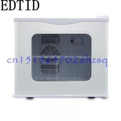 EDTID Mini Electric Refrigerator Household Cooler box Tempered Glass door Keep fresh for dormitory blue 45cm x 42cm x 48cm