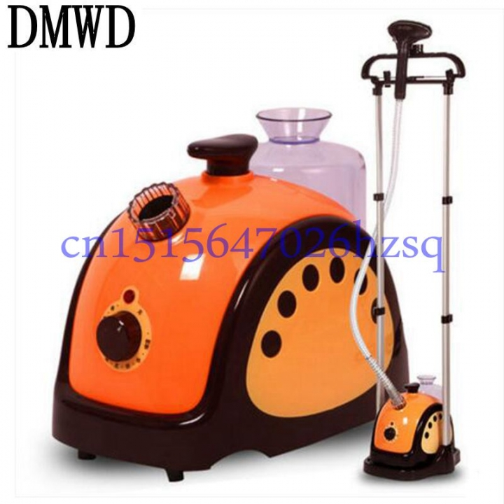 DMWD 220V  Household Electric High Power Handheld Steam hanging ironing machine Solid double pole orange
