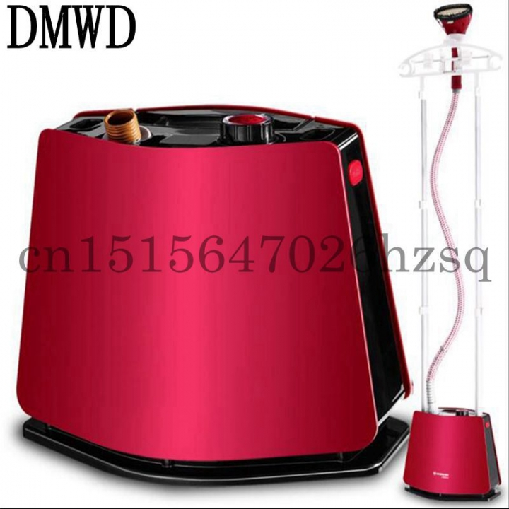 DMWD Household Electric High Power Handheld Steam hanging ironing machine Solid 2 pole streamlined red