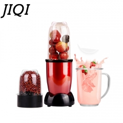 JIQI MINI Electric juicer Blender Baby Food Milkshake Mixer Meat Grinder Fruit Juice Maker Machine with milkshake cup