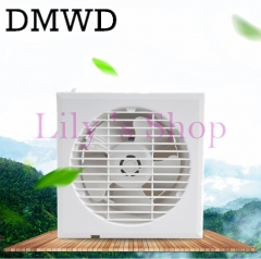 MINI Wall Window air Exhaust Fan Kitchen Toilets ventilating Fans slim Windows Ventilation white