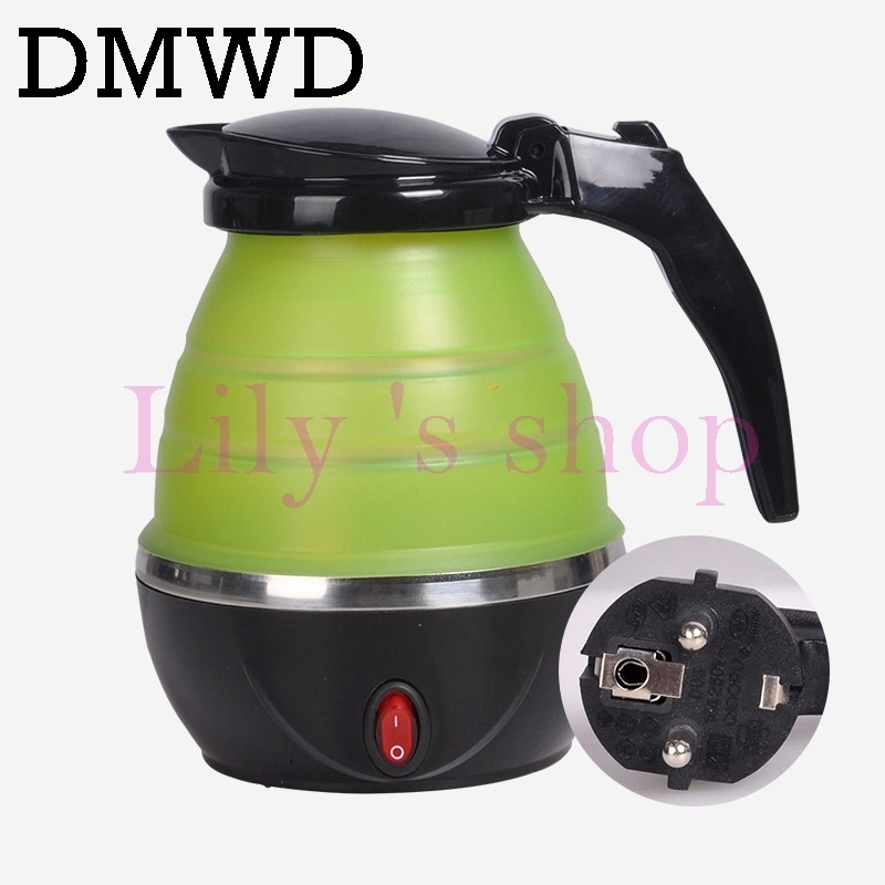 8581b75d4 DMWD Foldable water heating pot silicone stainless steel mini electric  kettle Camping anti-dry cup green 220v  Product No  2016624. Item  specifics  Seller ...