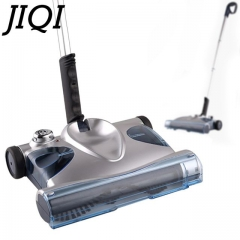 JIQI Sweeping mop vacuum cleaner handheld Cordless Electric Sweeper rechargeable Dust Collector grey 35cm x 25cm x 20cm