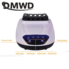 DMWD Electric Clothes Dryer Mini Remote Negative Ion Laundry Drying Machine Garment Warm Sterilizer two button display
