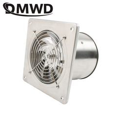 DMWD 6 Inch Window Wall Ventilation Exhaust Blower Cooling Duct Air Fan Toilet Kitchen Extractor 220v